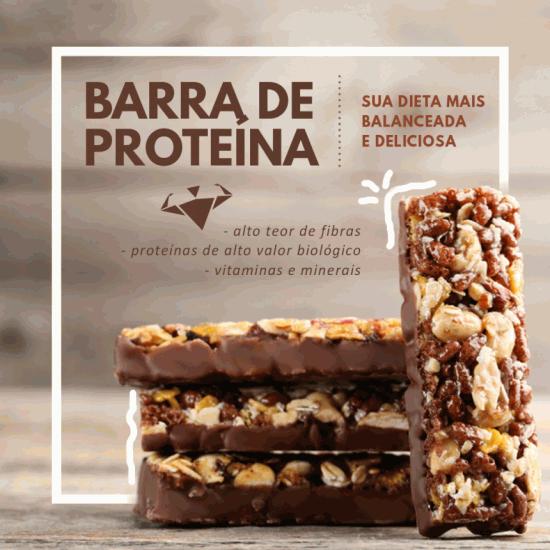 Barrrinhas De Proteína