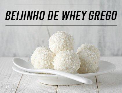 Receita Beijinho De Whey Grego