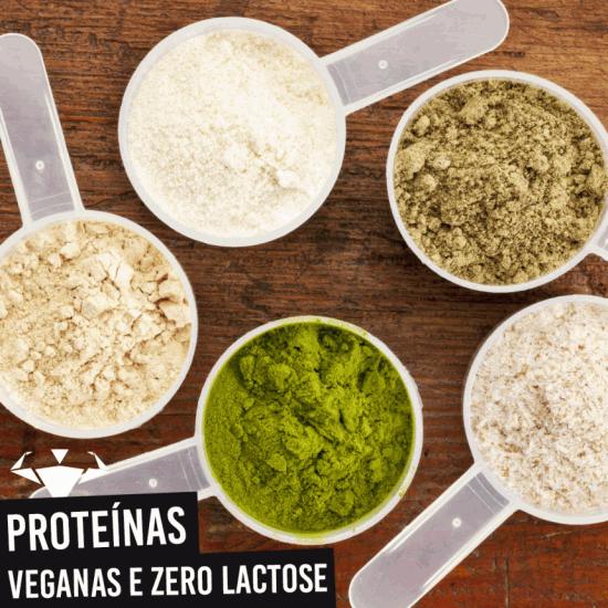 Opções De Proteína Para Alérgicos Ao Leite e Veganos