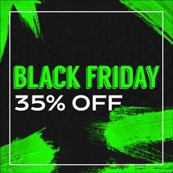 Black Friday 25% OFF