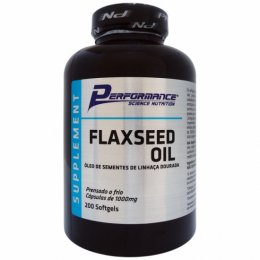 Flaxseed Oil 1000mg (200 Softgels)