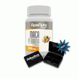 Maca Peruana 500 mg (120 Caps) + Porta Cápsula