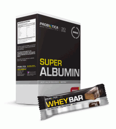 Super Albumin (500g) + Whey Bar Low Carb (40g)